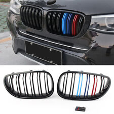 Kidney Front Grill Grille for BMW E60 E61 5 Series 2003-2010 Gloss Black
