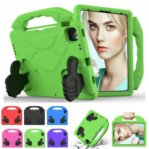 """For iPad 5/6/7/8th Air 1 2 3 4 Pro 11"""" Kids Shockproof Handle Stand Case Cover"""