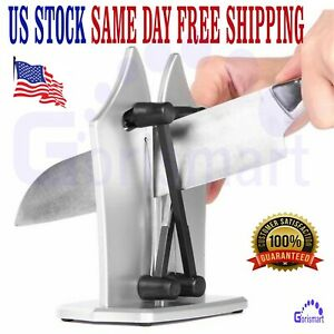 KNIFE SHARPENER PREMIUM CHEF GRADE Kitchen Versatile Angle Hone & Polish