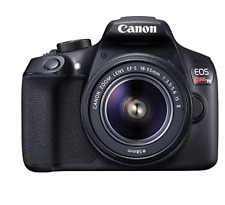 Canon EOS Rebel T6 DSLR Camera with EF-S 18-55mm f/3.5-5.6 IS II Lens-Used