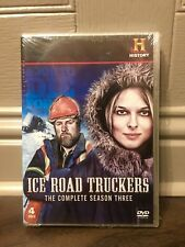 Ice Road Truckers Season 3 DVD Brand New 4 Disc The History Channel Documentary.