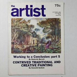The ARTIST Magazine - October 1972 [Vintage Magazine] Volume 84 No 1 Issue 499