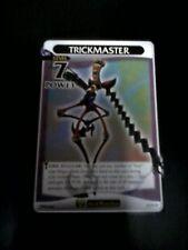 Trickmaster 58/91 R card Kingdom Hearts TCG CCG Disney Heartless Square Enix