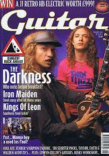 DARKNESS / IRON MAIDEN / KINGS OF LEONGuitar magazineSep2003