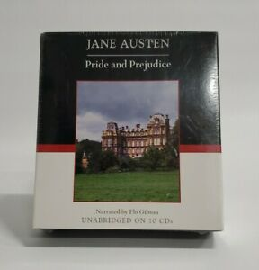 Pride and Prejudice (10 Compact Discs;11 Hours) by Jane Austen SEALED Ships FREE