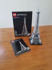 LEGO Architecture Eiffel Tower (21019)-Pristine Collector's Condition