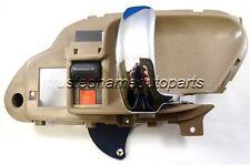 Right - Brown/Chrome Lever Interior Inside Inner Door Handle
