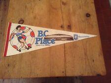 VANCOUVER WHITECAPS CANADA ORIGINAL XXLARGE RARE 1980'S PENNANT GOOD CONDITION