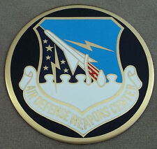 USAF Air Defense Weapons Center Self Adhesive Metal Emblem Decal / Sticker