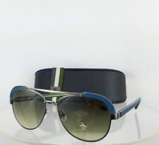 Brand New Authentic Penguin Sunglasses The Martin 55mm Blue & Grey Frame