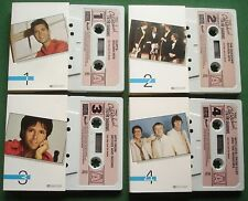 The Best Of Cliff Richard & The Shadows R/Digest 4 x Cassette Tape - TESTED