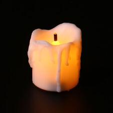 Luminous Flameless LED Candle Night Light Halloween Christmas Decoration White