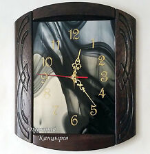 NEW Luxury Wall Clock Living Room DIY 3D Home Decoration Mirror Large Art Design