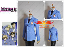 Ouran High School Host Club Jacket And Tie For Cosplay Custom Made Size