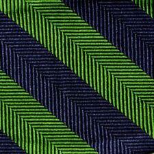 "Bow Tie Men Silk NAVY GREEN Stripe SELF TIE Bowtie 2.5"" Wide"