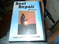 REEL REPAIR DVD WITH TROY BALL FREE SHIPPING