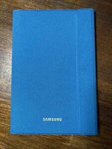"""Samsung Galaxy Tab A 8.0"""" Canvas Book Cover Solid Blue - EF-BT350WLEGUJ - USED"""