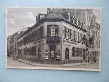 Ansichtskarte Karlsruhe Lorenz Arzberger Buchbinderei Haus Gebäude (Nr.618)