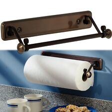 New York Series Kitchen Wall-Mount Paper Towel Holder, Bronze  Finish