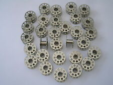20 TOYOTA DOMESTIC SEWING MACHINE METAL BOBBINS ALSO FIT OTHER MAKES & MODELS