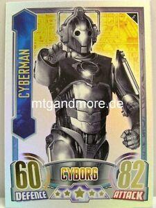 #005 Cyberman - Rainbow Foil - Alien Attax Doctor Who