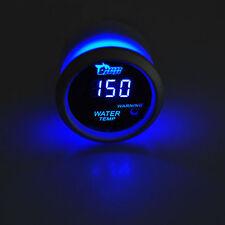 "2"" 52mm Black Car Auto Digital Blue LED Water Temp Temperature LED Gauge Kit"
