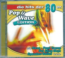 Pop & Wave 80 Edition *1 (2004) 2 CD NUOVO Nena Irgendwide, Irgendwo, Irgendwann