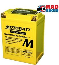 mbtx14au MOTOBATT extension batterie Moto CB14L-A2, YB14L-A2