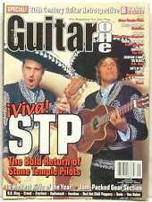 GUITAR ONE MAGAZINE STONE TEMPLE PILOTS INCUBUS RED HOT CHILI PEPPERS B.B. KING