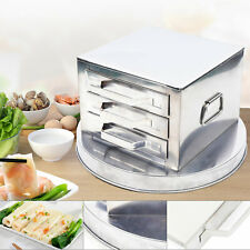 Small Kitchen Appliances 3 Layer Stainless Steel Steamer Rugged And Anti-cutting
