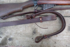 Leather Rifle Sling - Martini Henry - Snider - Lee Enfield - Long Lee