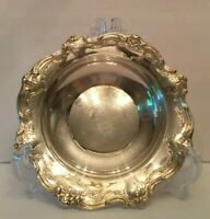 Gorham Silver Original Chantilly Silverplate Candy Dish Bowl Makers Mark YC1310