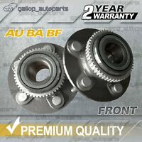Front Wheel Bearing Hubs for Ford Falcon AU BA BF ABS & non ABS Territory 2WD
