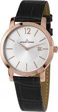 Jacques Lemans caballeros-reloj pulsera de acero inoxidable 40-1d