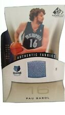Pau Gasol/100 jersey Carta Memphis Grizzlies NBA Card  2007/08 authentic fabrics