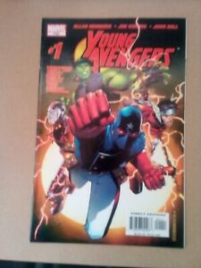 Young Avengers #1 2005 Marvel 1st Print 1st Kate Bishop Iron Lad Patriot Wiccan