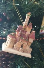Disney hanging Christmas tree Tradition beauty beast Enchanted Kingdom Castle