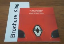 New Renault Clio Design Preview Introduction Release Mailer Brochure 2005/06c
