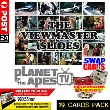 Planet of the Apes TV - The Viewmaster Files - Collectible Swap Cards - Full Set