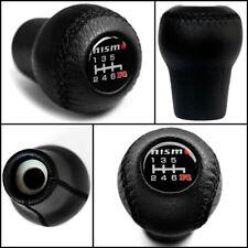 NISMO 6 Speed Leather Gear Knob M10x1.25 Silvia S15 Fairlady Z Navara D40 Sentra