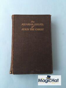 The Aquarian Gospel Of Jesus The Christ New Age Spiritualism Magik Aquarius