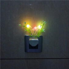 Small Night Light LED Wall Lamp Float Grass Light Control Glow in the Dark Home