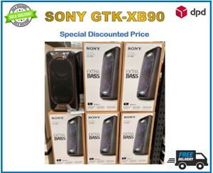 Sony GTK-XB90 Bluetooth High Power Party Speaker with Built-in Battery