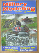 September Military Modelling Craft Magazines in English