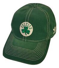 Adidas Boston Celtics Cap Slouch Style Logo Hat NBA Headwear