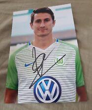 Signiertes Foto Paul Verhaegh  VfL Wolfsburg   NEU
