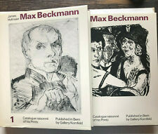 Max Beckmann - Catalogue raisonné of his Prints - 2 Bände - Kornfeld, Bern 1990