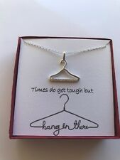 Necklace With Poem Fun Inspirational Pendant