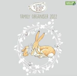 2022 Family Organiser - Guess How Much I Love You
