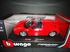 Bburago Ferrari 458 Spider Red 1/24